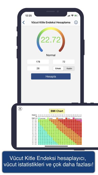 Screenshot for Vücut Geliştirme Plus in Turkey App Store