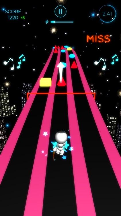 Beat Runner - EDM Music Arcade screenshot-4