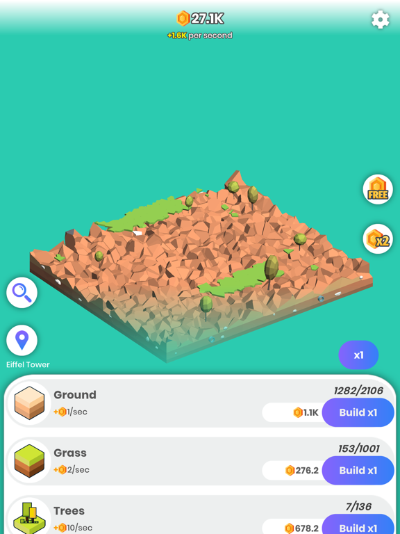 Idle Landmarks screenshot 6