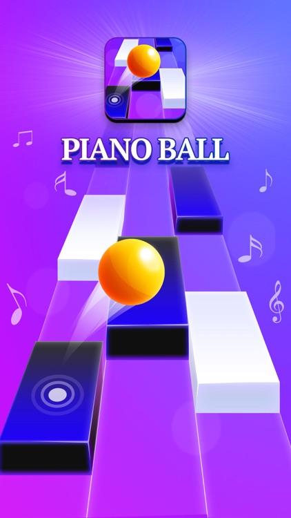 Piano Ball: Run On Music Tiles screenshot-0