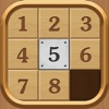 Number Puzzle - Wood theme