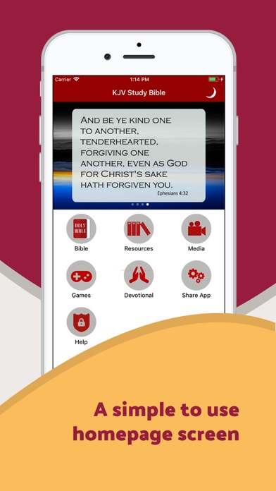 messages.download King James Study Bible - Audio software