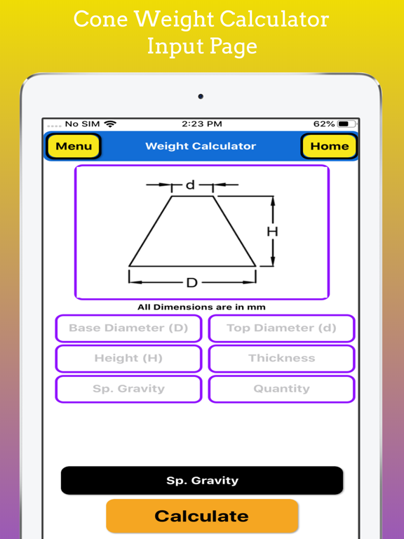 Fabrication Weight Calc Pro screenshot 17