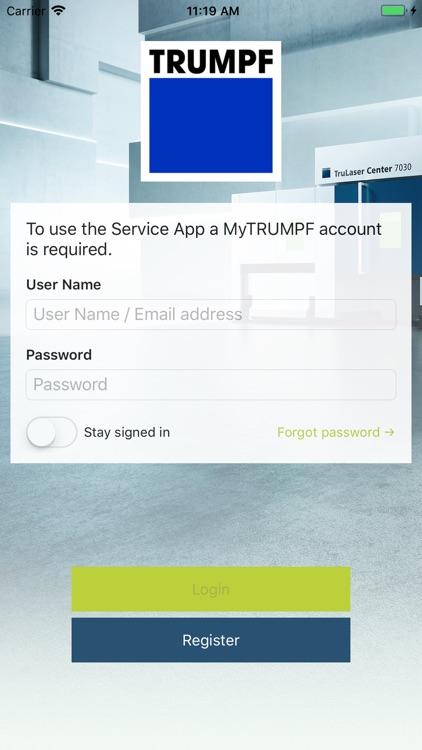 TRUMPF Service App