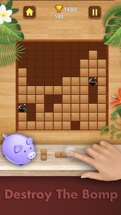 Wood Puzzle - Fill Block 1010