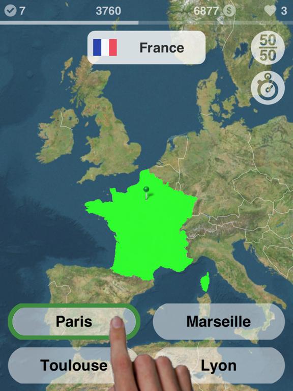 Geography: learn the world map Screenshots