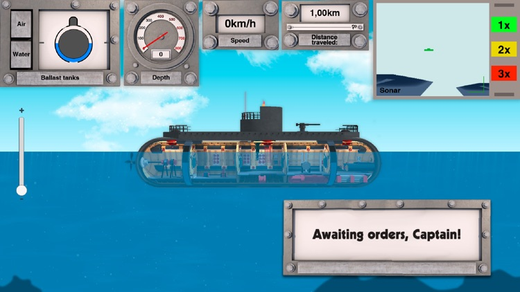 Nuclear submarine: battleships screenshot-3