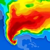 天氣雷達-雷達回波圖預測颱風動態