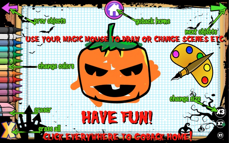Color Objects Kids Halloween for Mac