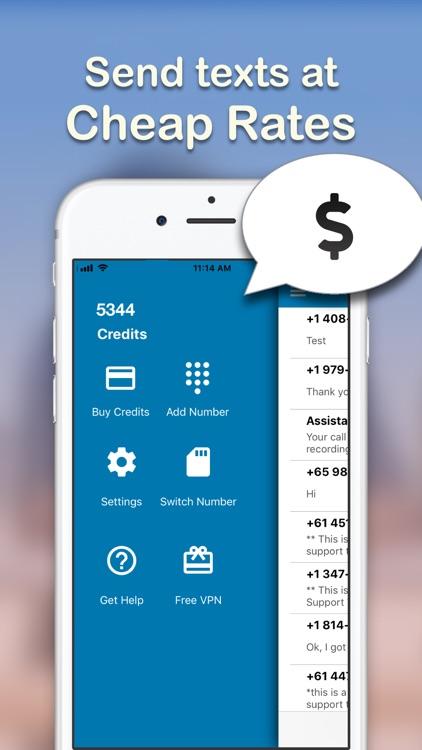 Text Burner - Texting App screenshot-3