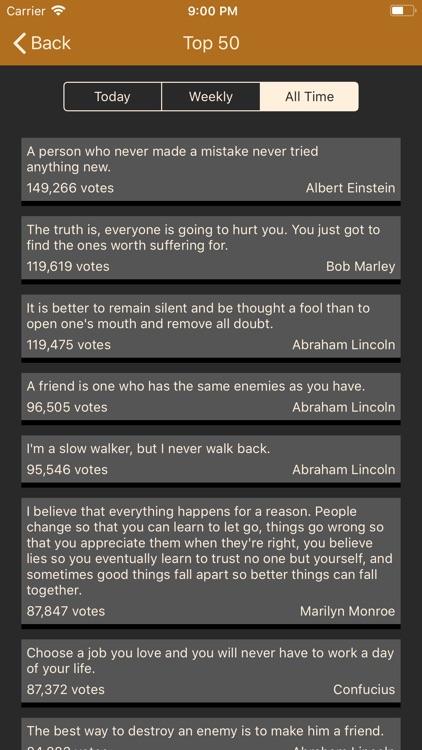 Brilliant Quotes screenshot-3