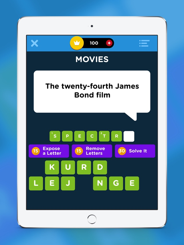 Crossword Quiz - Word Puzzles! on the App Store