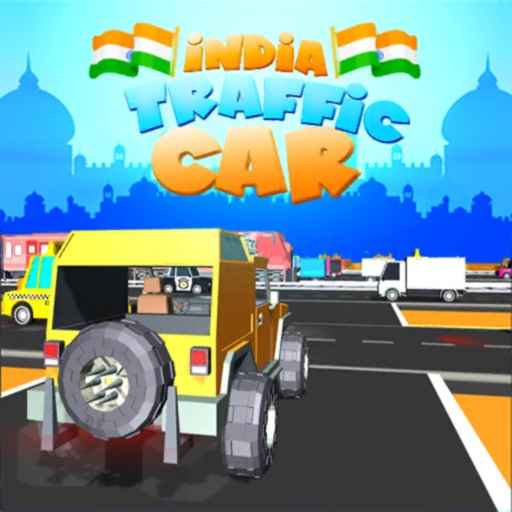 India Traffic Car