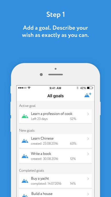 30 Minutes – Goal planner
