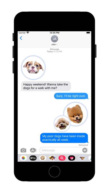 Cute Puppy - Stickers screenshot-1