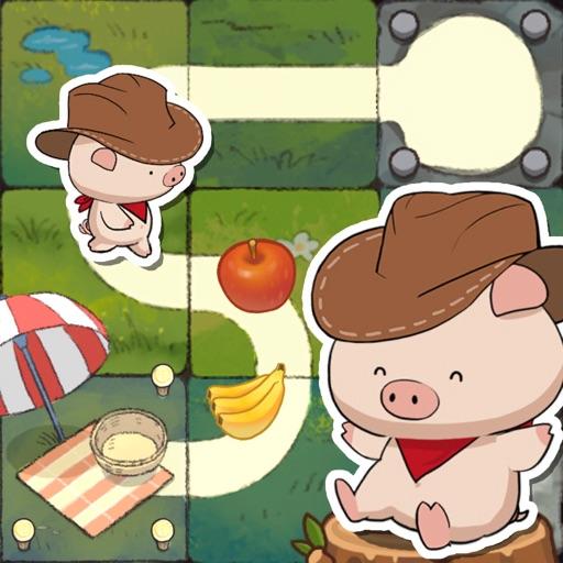 子豚の道探し大冒険