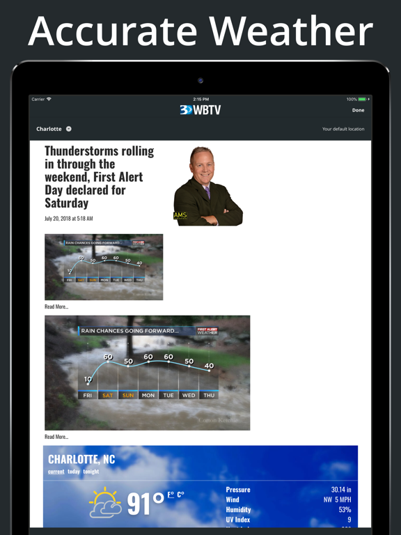 WBTV 3 Local News On Your Side   App Price Drops
