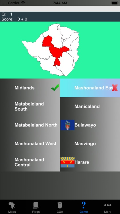 Africa Country's State Maps screenshot-4