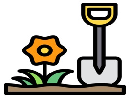 Sticker GardeningHi is 25 Stickers with content describing Gardening with high quality and clarity