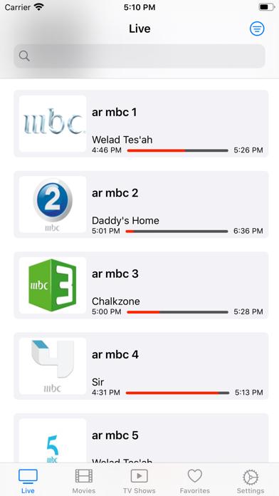 iProTV for iPtv & m3u content screenshot 1