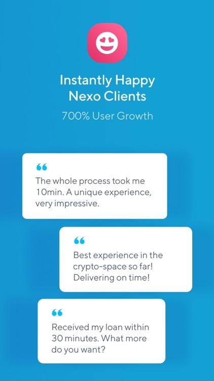 Nexo - Crypto Banking Account screenshot-7