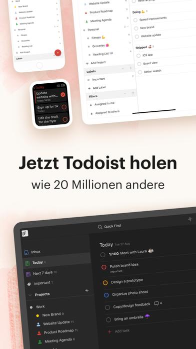Herunterladen Todoist: To-Do List & Aufgaben für Pc