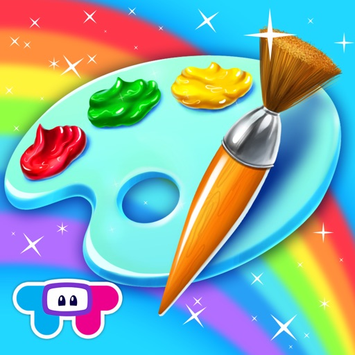 Paint Sparkles Draw iOS App