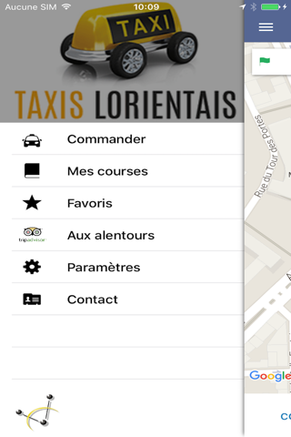 Taxi Lorient - náhled