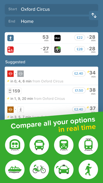 Screenshot for Citymapper in Philippines App Store