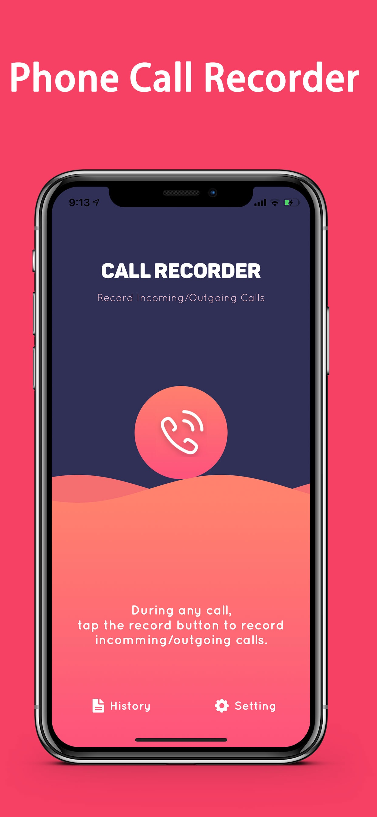 "Acr call recorder - for iPhone ""LIFETIME Recording"" hack"