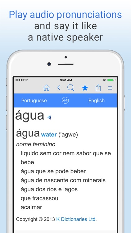 English-Portuguese Dictionary. screenshot-4