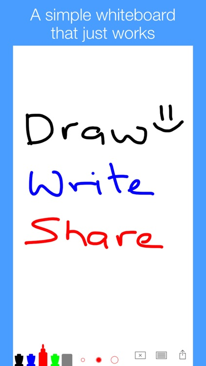 Simple Whiteboard by Qrayon