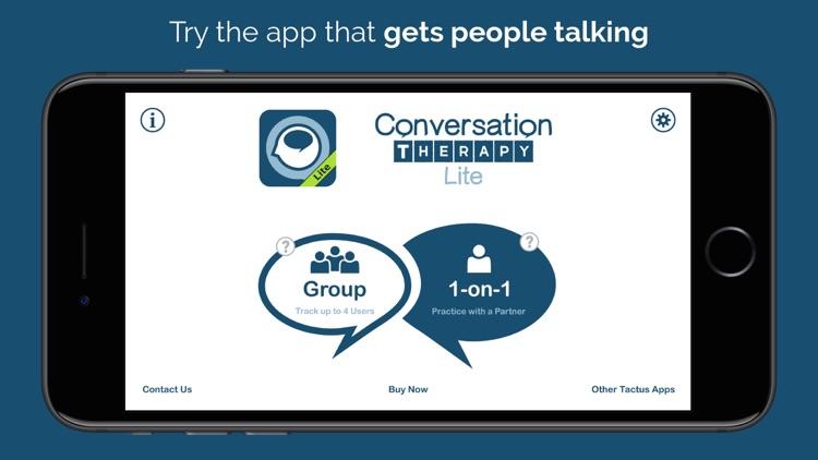 Conversation Therapy Lite screenshot-0