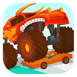 大脚车总动员 - 汽车和赛车儿童游戏