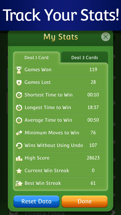 Solitaire  ‏‏‎‎‎‎ ‏‏‎‎‎‎ screenshot 6
