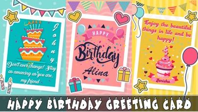 Birthday Wishes - Cards, Frame screenshot three