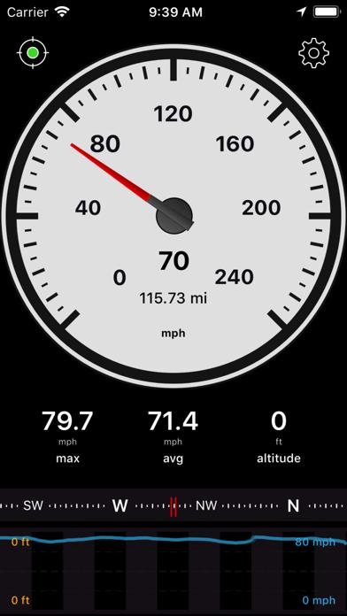 Speedometer Speed Box App Screenshot