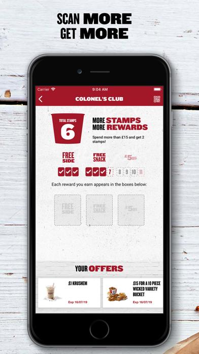 KFC screenshot four