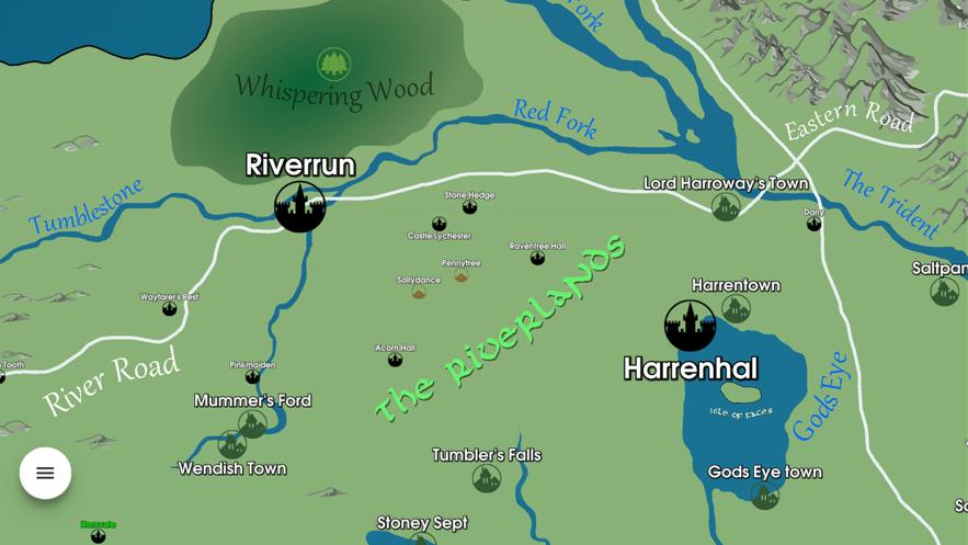 GoT Map Recap App 截图