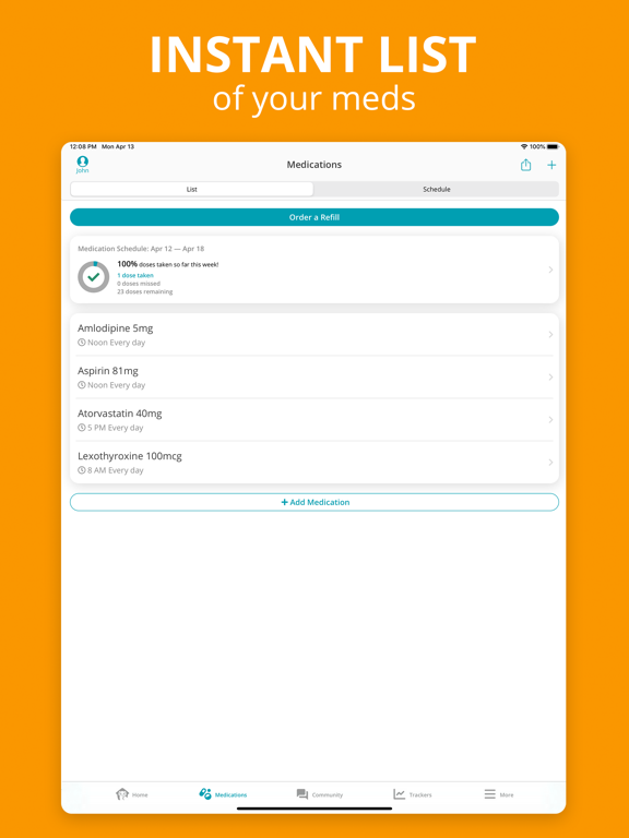 CareZone | Organize health information for you and your family screenshot