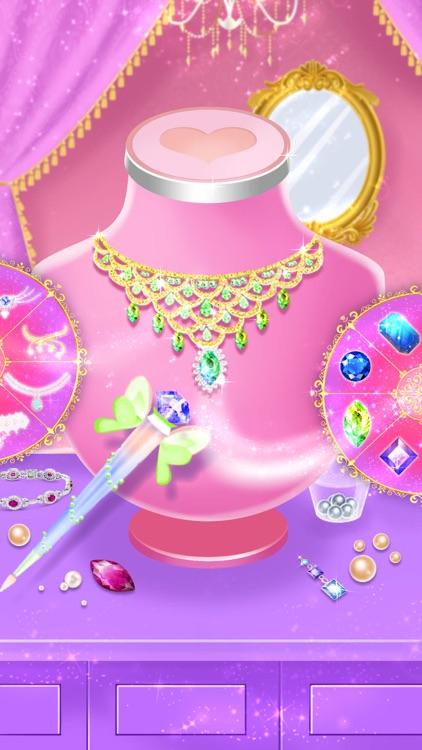 Princess dress up fashion game screenshot-4