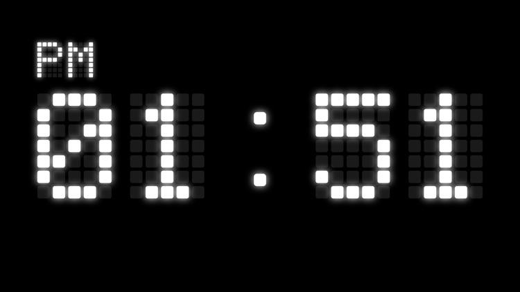 Digital LED Clock screenshot-0