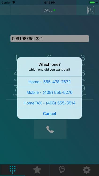 Hello Card Dialer screenshot-4