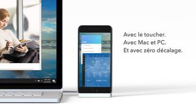 Duet Display iphone captures décran