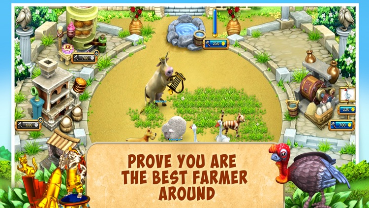 Farm Frenzy 3 Ancient Rome screenshot-4
