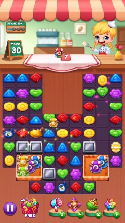 Sweet Candy POP Match 3 Puzzle screenshot-8