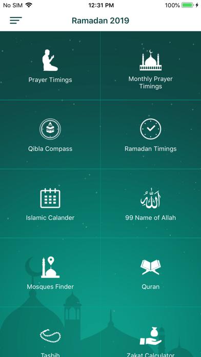 Screenshot #1 pour Monde islamique PRO - Qibla