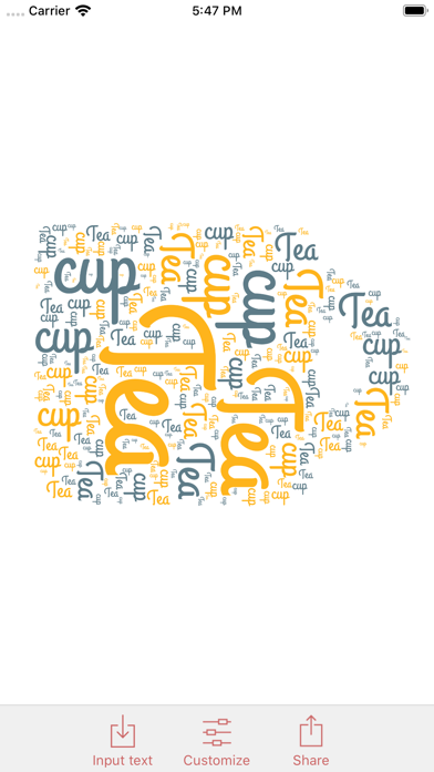 WordPack: Word Cloud Generator Screenshots