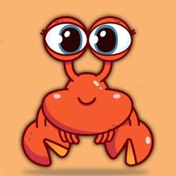 Crab Stickers Best of Crabs