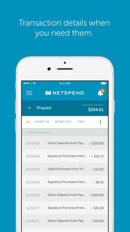 Netspend screenshot-3